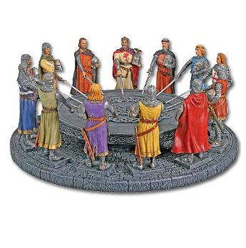 Rover round table once a rover always a rover for 10 knights of the round table